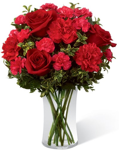 Le bouquet Toujours authentique de FTD VASE INCLUS